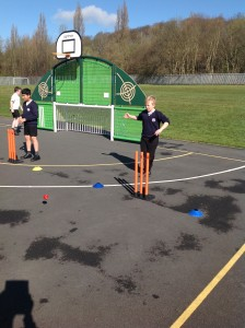 Cricket training in progress ready for our next competition.