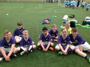 Year 5/6 Runners up of The S.M.A.T Football competition.